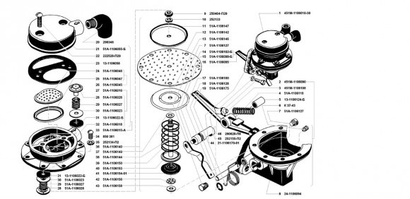 Насос топливный ШААЗ УМЗ 4178