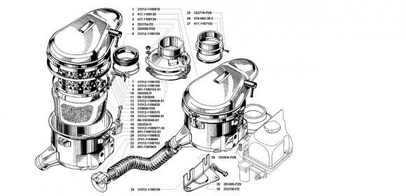Фильтр воздушный УМЗ 4218