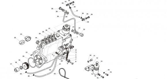 Топливный насос высокого давления (ТНВД) andoria (4.89.35.01.002)