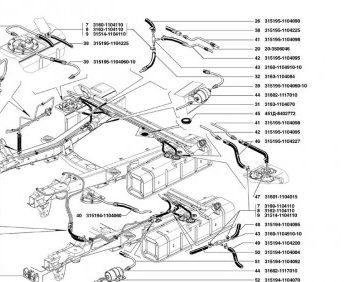 Трубопроводы топливные часть 1