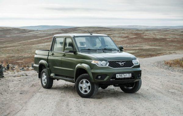 Обновленный УАЗ Пикап поступил в продажу